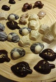 Making chocolates for Easter