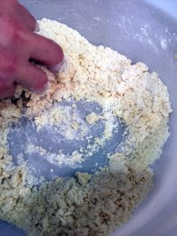 Short crust pastry dough