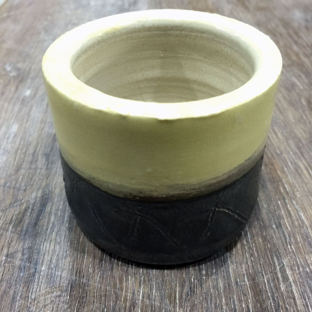 Finished small pot